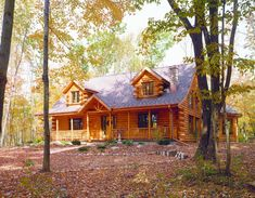 Log Home Photos | Maplecreek Home Tour › Expedition Log Homes, LLC