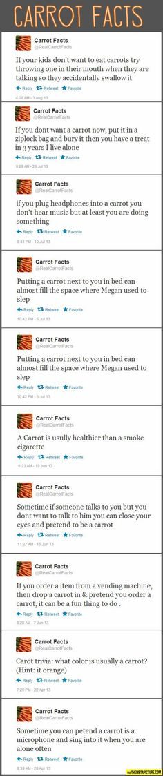 Carrot Facts...