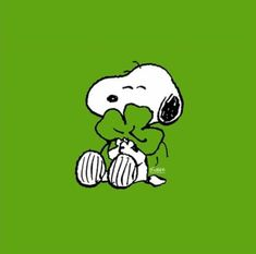 SNOOPY~ ST. PATRICK'S DAY