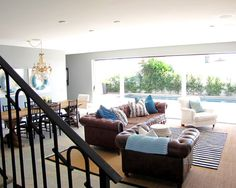 Eclectic Family Room Stairs Design, Pictures, Remodel, Decor and Ideas - page 8