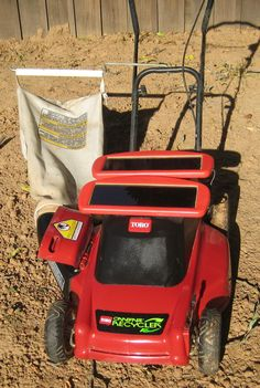 DIY Solar Lawn Mower -  Think outside the box. This is a great preparedness / homesteading project