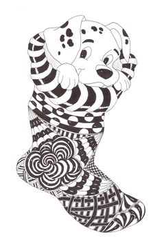 Zentangle made by Mariska den Boer 86