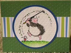 A golfing hedgehog!?