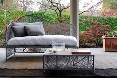 nature inspired furniture patio design, books, outdoor furnitur, design homes, nature, patio furnitur, leaves, patios, furniture