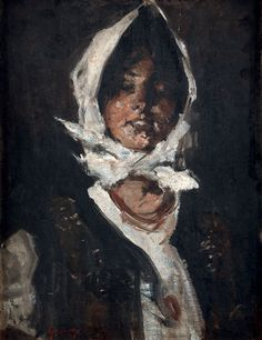 Romanian artist Nicolae Grigorescu's 'Young peasant girl' painting sells for EUR 45,000 in Paris