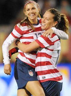 11/29/12 - Cal South alumnae Alex Morgan had three goals in a friendly against Ireland in Portland last night to give her 27 for the year for the U.S. Women's National Team thus far. http://sportsillustrated.cnn.com/2012/soccer/11/29/usa-ireland-alex-morgan.ap/index.html# Brian Murphy/Icon SMI