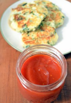 Homemade ketchup. No more high fructose corn syrup!