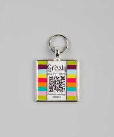How cool is this, a whole line of pet tags that you can have your info put on a QR Code.   When scanned a notification is sent to the owner.