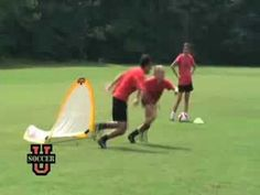 This is a nice short video of many different skills. Youth Soccer Drills - Coaching Youth Soccer