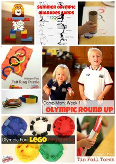 Toddler Approved!: Camp Mom: Olympic Round Up Week 1 {Kid's Co-op}. What Olympics activities did you do last week?