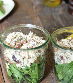 Chicken Salad Recipe in a Jar