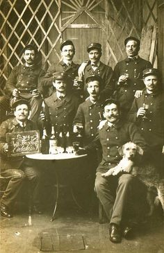 Absinthe Photographs at The Virtual Absinthe Museum: Albumen Prints and Cabinet Cards