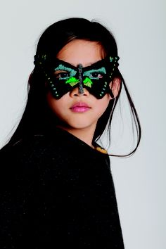 Butterfly Mask, Cape by #oeufnyc  www.oeufnyc.com