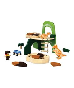 Take a look at this Dino Explorer Set by PlanToys on #zulily today!