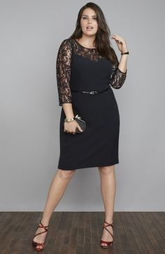 Adrianna Papell Sheath Dress & Accessories  available at #Nordstrom