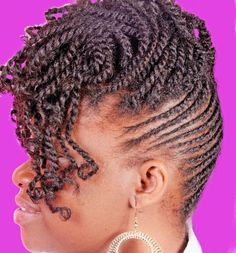 Twisted Up-do! | Black Women Natural Hairstyles