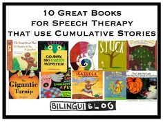 Here is a list of some of our other favorite Cumulative Stories. We included Amazon links so that you can easily find the books and read more. We would love to hear from you on how you use these books in therapy!