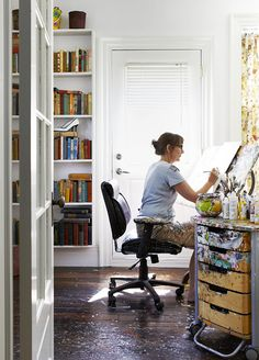 at home with artist holly farrell / sfgirlbybay
