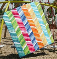 True Colors by Jen Daly in Best Fat Quarter Quilts 2014.