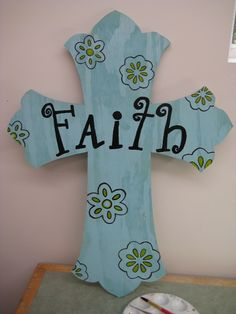 Wooden Cross cut out with scroll saw