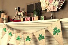 St. Patricks day Baby Shower