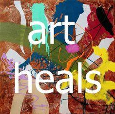 """""""Art heals"""" by Allan O'Marra artist"""