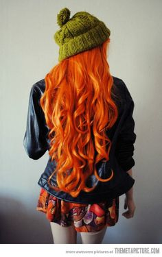 i love this girls hair!