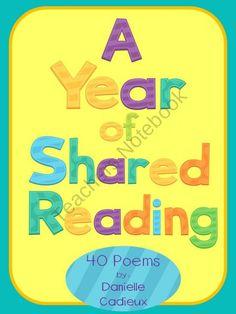 shared reading, literaci, share read, entir school, kindergarten ela, read idea, teach, school idea, read poem