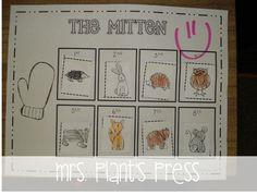 plant press, mitten mania, ordinal numbers