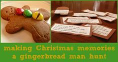 Gingerbread Man Hunt... our favorite family tradition