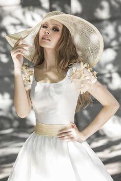 Tendencias novias: tocados y sombreros #novias #complementos