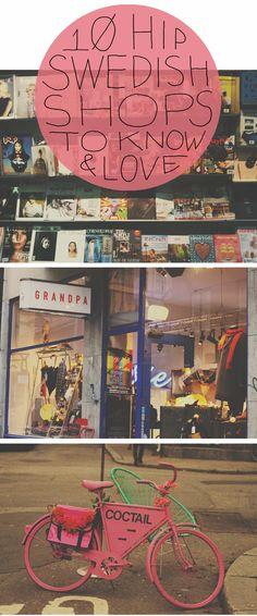 """10 Hip Swedish shop"