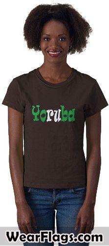 #Yoruba, Nigerian Flag T-shirt, $19.95 #Nigeria #Naija