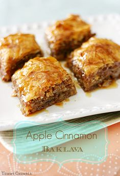Apple Cinnamon Baklava Recipe - RecipeChart.com
