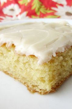 White Texas Sheet Cake Recipe