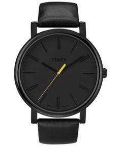 black on black on black - Timex