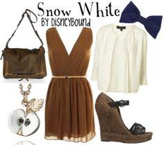 disney cloth, disney outfits, white style, disney princesses, disney couture, the dress, shoe, disney fashion, snow white