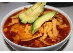 vegan slow cooker taco soup.