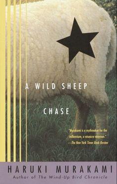 a wild sheep chase, haruki murakami, japanese, mystery, ghosts