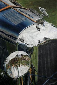 '1921 Amilcar' - by David Billingsley