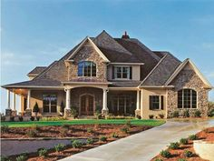 House plans... A website you can pick # of bedrooms, baths, half baths, garage bays, etc. So fun!