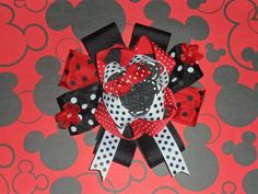 Huge Minnie Mouse Bow!