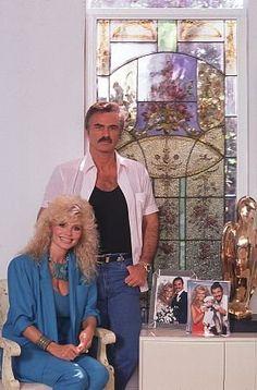 Burt Reynolds y Anderson Loni