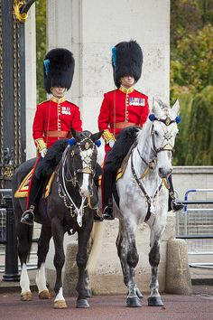 Mounted Guard, London - By Brian Jannsen