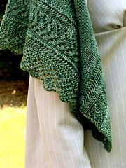 Ravelry: Lizzie Bennet's Shawlette pattern by Annie Riley (LOVE the border and edging of this beautiful shawl) Pattern to purchase
