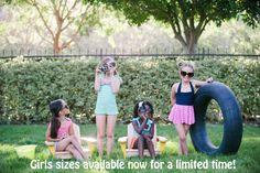 Rey Swimwear for kids! #WhoSaysItHastobeItsyBitsy