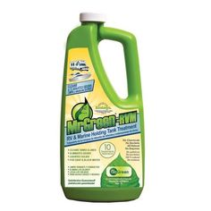 MrGreen RVM RV & Marine Holding Tank Treatment. Eliminates odor at source (not a masking agent) - Cleans tank and lines - All natural ingredients - Lubricates valves and seals - One treatment per pump out - Unaffected by hot weather or heavy use - No formaldehyde, bacteria, enzymes, chemicals or masking agents - Treats gray and black water - EcoLogo Certified $11.99