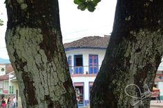 Casa antigua de arquitectura paisa