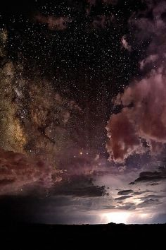 Incredible night sky...