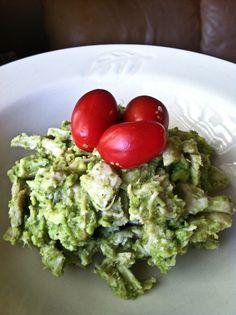 Avocado Chicken Salad. #recipes